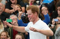 Pin for Later: Prince Harry Can't Control His Royal Hotness While Playing Soccer