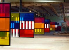 Daniel Buren (born 25 March 1938 in Boulogne-Billancourt, Hauts-de-Seine) is a French conceptual artist. Sometimes classified as an abstract minimalist Buren is known best for using regular, contrasting maxi stripes to integrate the visual surface and architectural space, notably historical, landmark architecture. Among his chief concerns is the 'scene of production' as a way of presenting art and highlighting facture (the process of 'making' rather than for example, mimesis or…
