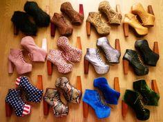 Lita by Jeffrey Campbell{{{(>_<)}}}A lot of, don't wear.
