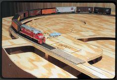 Build a table for a small model railroad | ModelRailroader.com