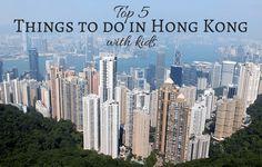 Read our top 5 things to do in Hong Kong with kids including Disneyland, Ocean Park, Victoria Peak Tram, Big Buddha, Big Bus of Hong Kong Island.