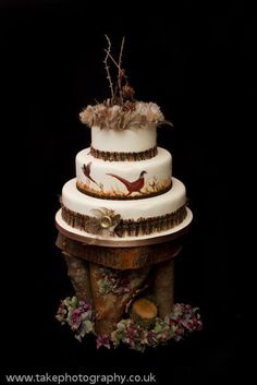Hunting lodge .. cake by Crumbs Cakes