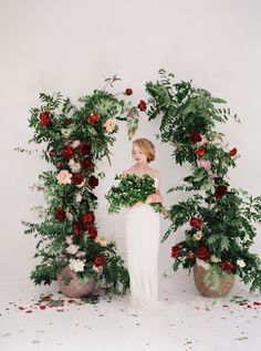 Ideas Wedding Arch Rustic Flowers Entrance For 2019 Wedding Alter Flowers, Floral Wedding, Diy Wedding, Wedding Table, Wedding Events, Arco Floral, Floral Arch, Wedding Arch Rustic, Wedding Altars