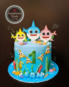 Baby Shark Doo Doo Birthday Cake Source by darleenanne Shark Birthday Cakes, Baby Boy 1st Birthday Party, First Birthday Cakes, First Birthday Parties, Birthday Party Themes, First Birthdays, Boys First Birthday Cake, Birthday Ideas, Bolo Elmo