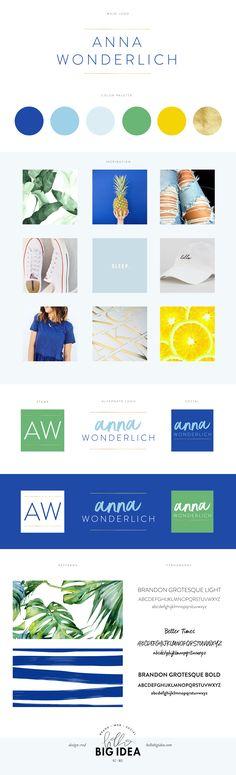 Anna Wonderlich   Brand Design + Identity by Hello Big Idea - hellobigidea.com