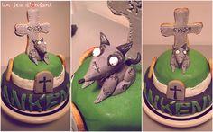 Gâteau Frankenweenie Halloween 2012