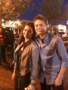 Vanessa Marano and Sean Berdy aka Bay Kennish and Emmett Bledsoe- Switched At Birth. I love Emmett <3