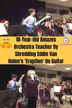 Rare Videos, Funny Videos, Eddie Van Halen, Majestic Animals, Good Jokes, Good Life Quotes, 10 Year Old, Orchestra, Fun Facts