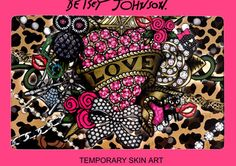 Betsey Johnson Iconic Charms Tattoos