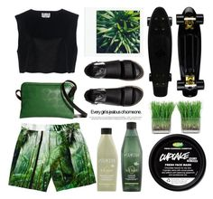 """""""Greenery"""" by emcf3548 ❤ liked on Polyvore featuring Ava Catherside, H&M, Orla Kiely, KEEP ME, Redken and Dries Van Noten"""