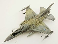 Tamiya 1:72 scale model F-16 by Jamie Haggo. #aircraft #military