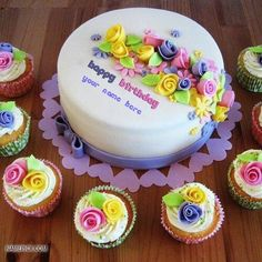 Best #1 Website for name birthday cakes. Write your name on Beautiful Birthday Cake Writings picture in seconds. Make your birthday awesome with new happy birthday greetings cakes. Get unique happy birthday cake with name.