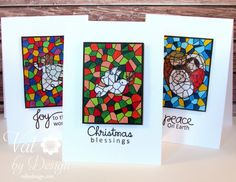 Blessed Christmas #card by Valerie Ward - #PaperSmooches #PSPatrol