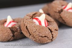 Peppermint Mocha Blossoms (12 Days of Christmas 2010) | my kitchen addiction