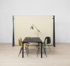 GUBI - Gubi Chair, Betlite Lamp and Y! Table http://decdesignecasa.blogspot.it
