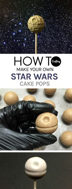 Know any Star Wars fans? We sure do and we KNOW they would love these cake pops.