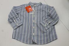 New stripe shirt, 12 months - merrilymerrily.ca