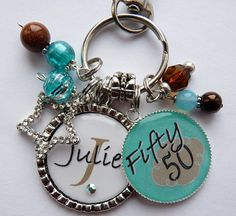 Personalized 50th birthday gift name sister aunt by TrendyTz