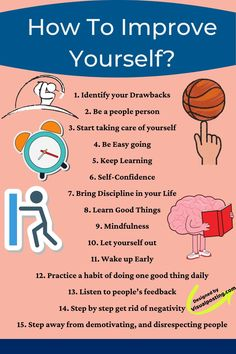 How to Improve Yourself? Personal Development Skills, Self Development, Character Education Lessons, Life Advice, Good Advice, Inspirational Quotes About Success, Life Lessons, Life Skills, Self Improvement Tips
