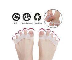 US$ 18.99 - Silicone Hammer Toe Corrector - www.lokeeda.com Hammer Toe Correction, Posture Correction, Gel Toe Separators, Bunion Relief, Bow Legged, Gel Toes, Muscle Imbalance, Ingrown Toe Nail, Silicone Gel