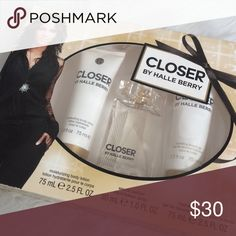Closer Halle Berry perfume set Brand new. Body lotion. Perfume. Shower gel Halle Berry Other