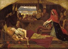 Ford Madox Brown 'Lear and Cordelia', 1849–54  This is the first of three paintings by Brown that illustrate scenes from Shakespeare's tragedy King Lear.