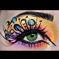 Eyeshadow art
