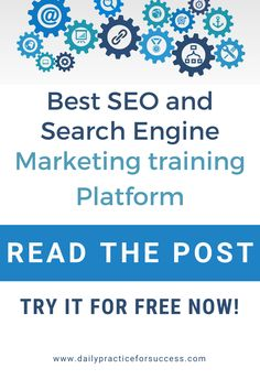 Looking for a training that can give your website a powerful boost in traffic? Look no longer. Get the best SEO training at the best Search Engine Marketing Training platform now. Read my post and find out how you can start for Free now! Seo Training, Marketing Training, Train Platform, Digital Marketing Trends, Seo For Beginners, Search Engine Marketing, Best Seo, Seo Tips, Seo Services