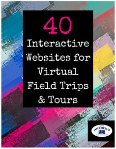 "Virtual tours and field trips provide students with opportunities they may not get to experience otherwise. Where else can you ""take a trip"" to s. Interactive Websites, Virtual Travel, Virtual Tour, Virtual Field Trips, School Closures, Teaching Social Studies, Travel Tours, Travel Ideas, Educational Technology"