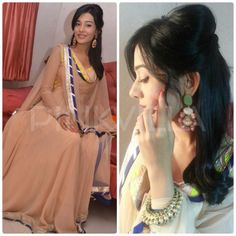 Amrita Rao wore a Kanika Kedia creation for her 'Singh Sahab the Great' promotions during Navratri at the Ghatkopar grounds in Mumbai. Pakistani Outfits, Indian Outfits, Indian Clothes, Trendy Dresses, Girls Dresses, Asian Dressing, Amrita Rao, Celebrities, Celebs