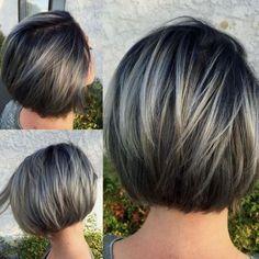 Градуированное каре на короткие и средние волосы: стильные варианты! | bomba.co