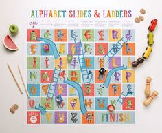 'The Amazing Alphabet' Printables and Book ~ Tinyme