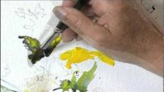 Painting Flowers in Watercolor with Charles Reid, Part 2, via YouTube.