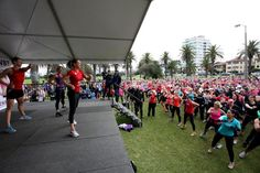 Breaking a world record in Melbourne!