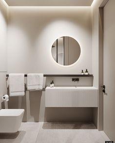 Minimalist Bathroom, Minimalist Home, Bathroom Toilets, Small Bathroom, Bathrooms, Home Room Design, Home Interior Design, Baths Interior, Apartment Interior