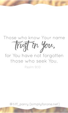 Let's be a people who know WHO we know and believe in the power of His name, the strength of His word, and the value of always seeking to know God more. https://instagram.com/p/BSmLnYljWvU/ | Faith | Encouragement | Bible | Scripture | Hope | Trust in God | Christian | Jesus | Gods Promise |