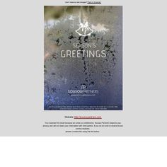 SEASON'S GREETINGS from SOUSOU PARTNERS LLP
