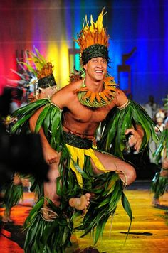 Tane live costume Green yellow orange
