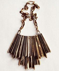 Aesa Genny Pleet Necklace