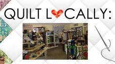 QUILT LOCALLY: We'd like to welcome Pins & Needles Quilt Shop in Chattanooa, Tennessee, today to our blog! - www.quiltsoflovebooks.com