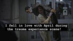 Grey's Anatomy Confessions.