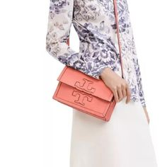 Tory Burch Jessica Clutch Crossbody in Snapdragon Add pics. Please see main listing Tory Burch Bags Crossbody Bags