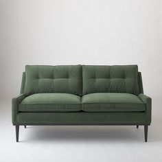 Jack Loveseat - Green Velvet