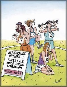 Menopause joke... ha ha! For more great women's humor visit www.bestfunnyjokes4u.com/lol-how-to-maintain-a-healthy-level-of-insanity/