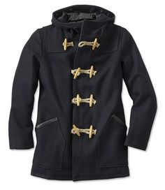 Image for MELANGE WOOL DUFFLE COAT from Tommy Hilfiger USA ...