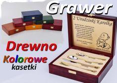 Gerlach PYCHOTKI sztućce grawer pudełku drewnianym