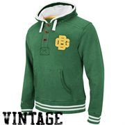Mitchell & Ness Green Bay Packers Vintage Primary Logo Pullover Hoodie Sweatshirt - Green.  Lots of nice looking gb packer clothing