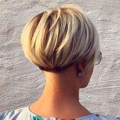50 Wedge Haircut Ideas for Women . 50 wedge haircut ideas for women Short Hair Cuts For Women, Short Hairstyles For Women, Cool Hairstyles, Short Haircuts, Wedding Hairstyles, Hairstyles 2016, Short Wedge Hairstyles, Hairstyle Short, Layered Haircuts