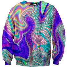 Nebular Holographic Sweater