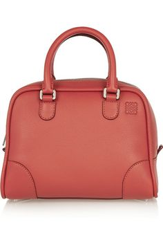 Red leather (Calf) Two-way zip fastening along top Comes with dust bag 511cd4ebf3057